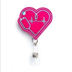 Healthcare Workers Need Love! Badge Reel Holder💕